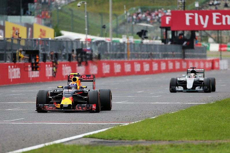 Verstappen e Hamilton