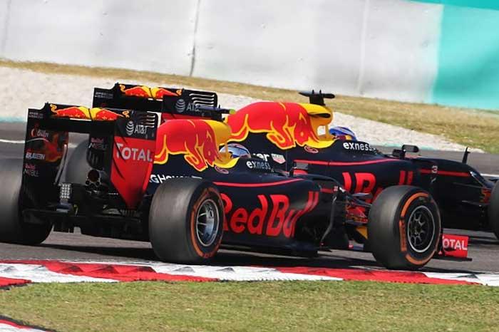 Red Bull em 2016