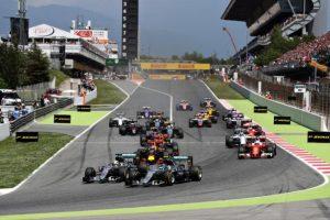 Largada GP da Espanha