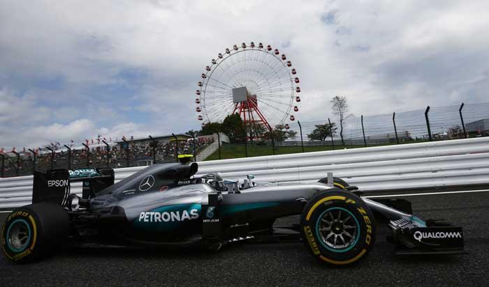 F1 – Rosberg é o pole do GP do Japão de 2016