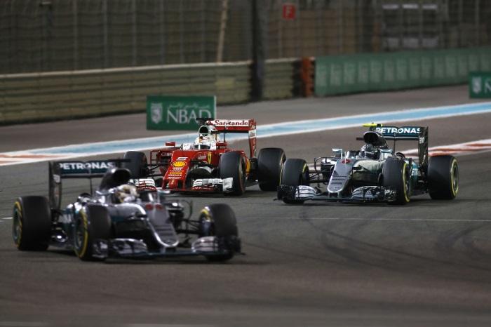 Mercedes x Ferrari