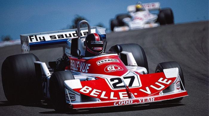 Patrick Neve no GP da Espanha de 1977