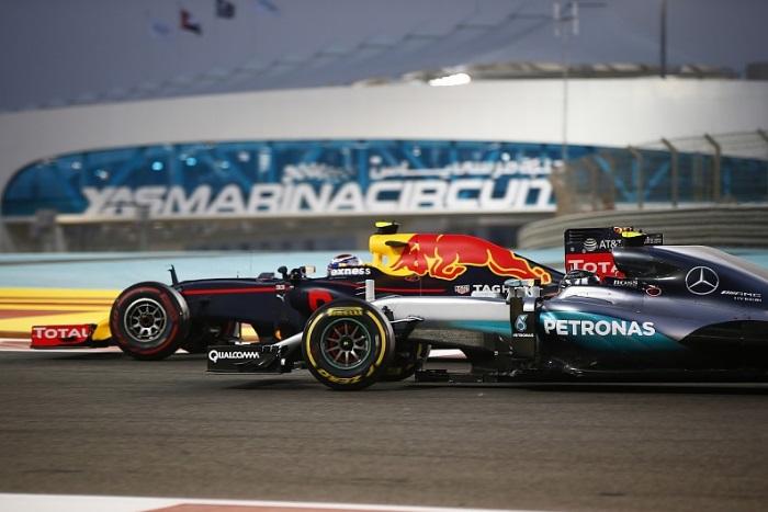 Nico Rosberg e Max Verstappen