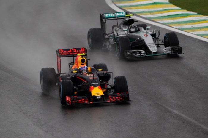 Max Verstappen e Nico Rosberg