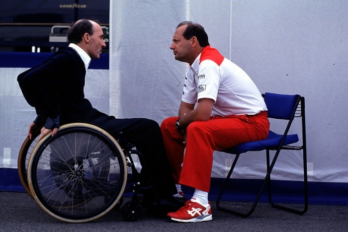 Frank Williams e Ron Dennis