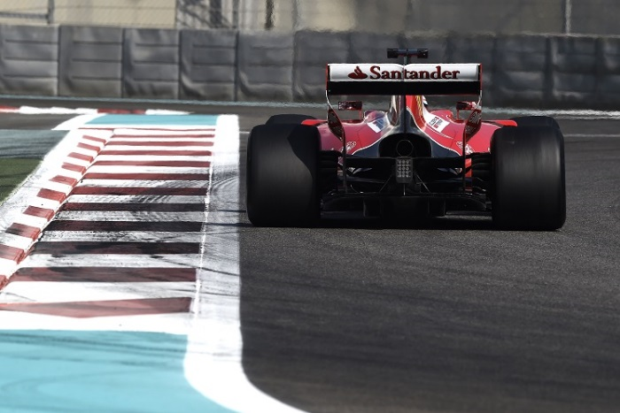 Teste de pneus da Pirelli