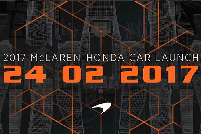 Anúncio do lançamento da McLaren
