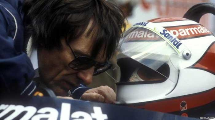 Bernie Ecclestone e Nelson Piquet - Brabham