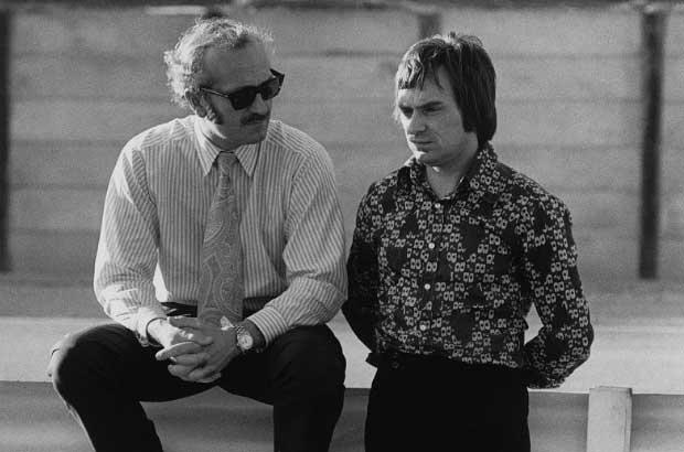 Colin Chapman e Bernie Ecclestone