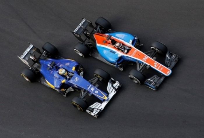 Marcus Ericsson e Pascal Wehrlein