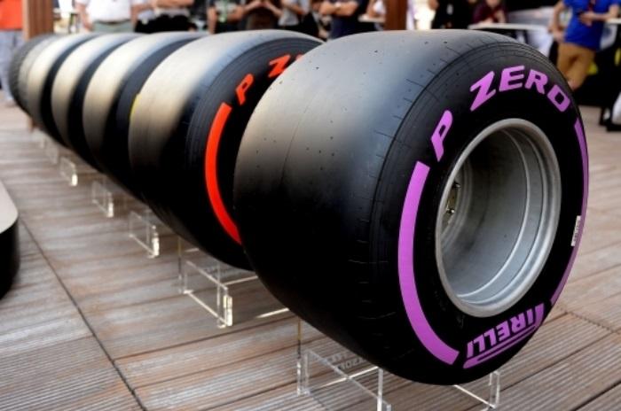 Pneus da Fórmula 1