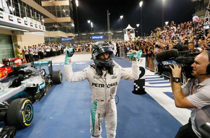 Nico Rosberg - campeão de 2016