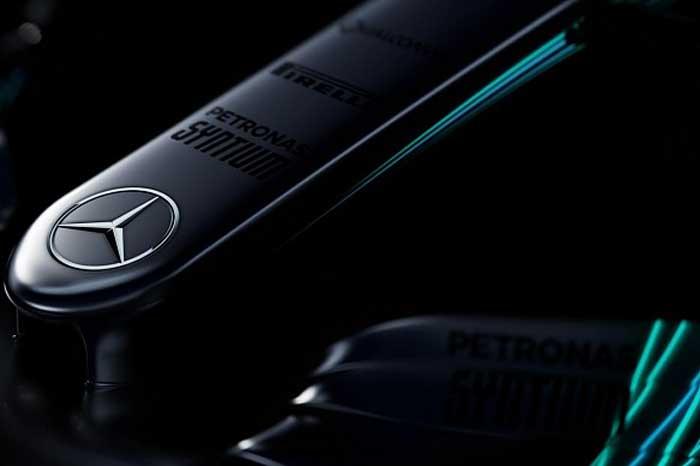 Bico do Mercedes W08