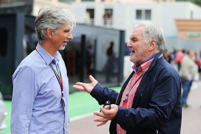 Damon Hill e Patrick Head