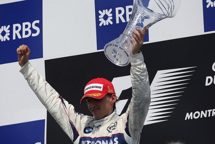 Robert Kubica no GP do Canadá em 2008