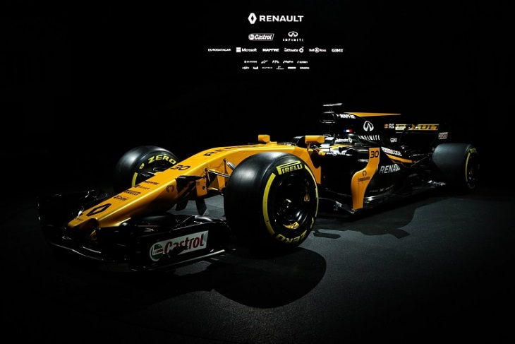 Mapfre Renault F1 2017 by Auto Racing