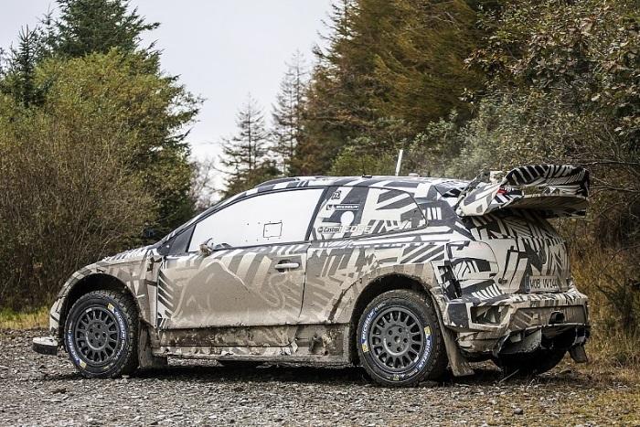 VW Polo R WRC de 2017