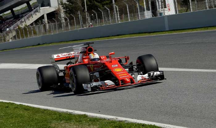 Vettel - Ferrari 2017