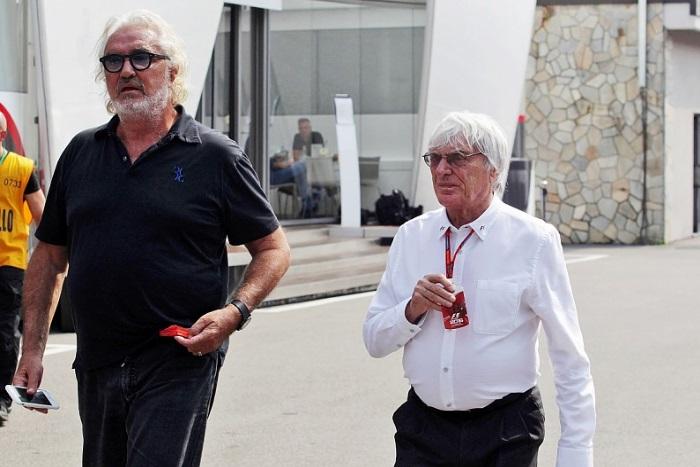 Flavio Briatore e Bernie Ecclestone