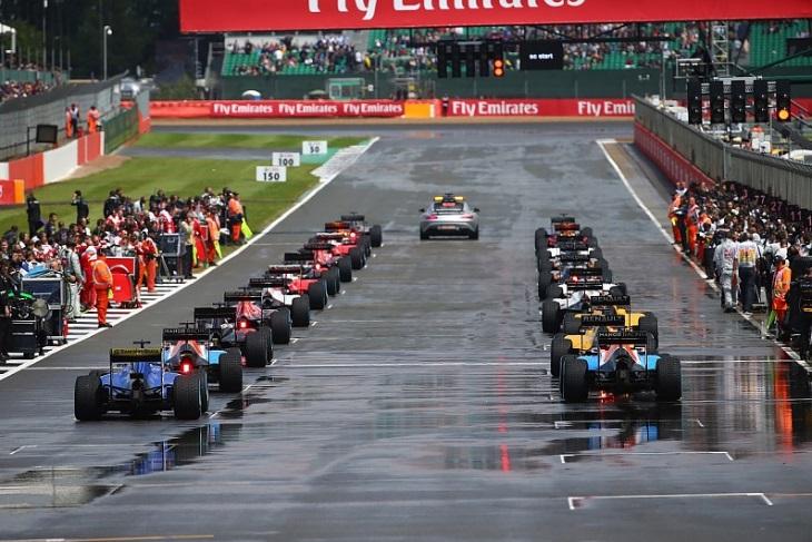 Largada da Fórmula 1