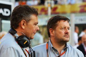 Mario Isola e Paul Hembery