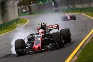 Kevin Magnussen e Romain Grosjean