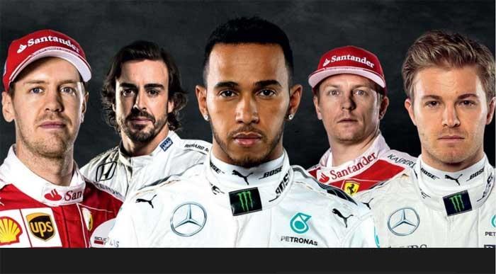 Pilotos da F1