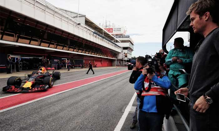 Pré-temporada F1
