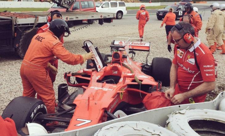 Ferrari de Kimi Raikkonen