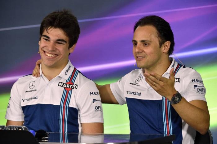 Lance Stroll e Felipe Massa