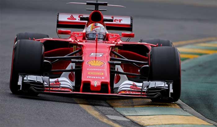 Sebastian Vettel em Melbourne