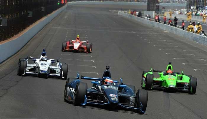 Rubens Barrichello na Indy 500 - 2012