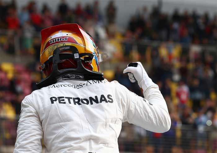 Lewis Hamilton - China 2017