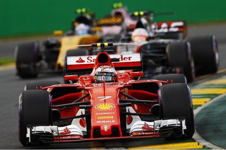 Ferrari, Haas e Renault