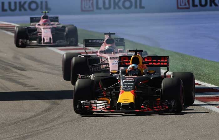 Red Bull e Force India