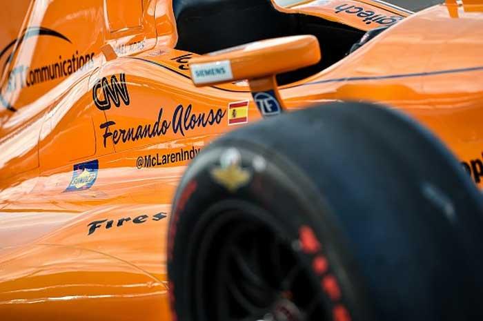 Carro de Fernando Alonso