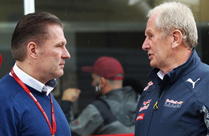 Jos Verstappen e Helmut Marko