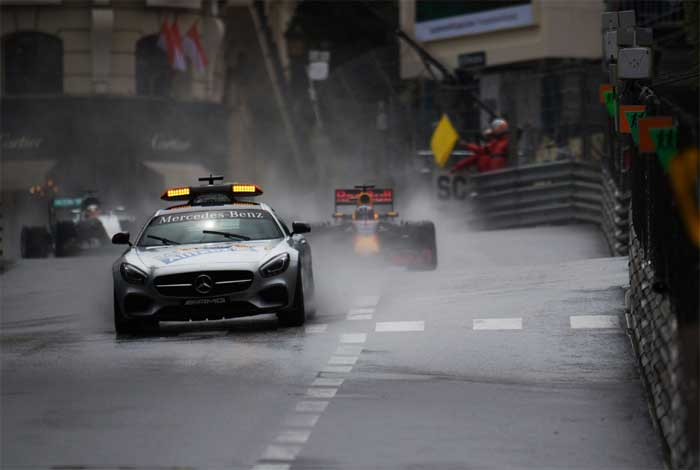 Monaco 2016 - Largada com SC
