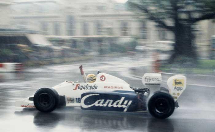 Ayrton Senna em Monaco 1984