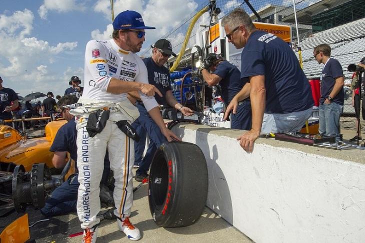 Fernando Alonso e Gil de Ferran