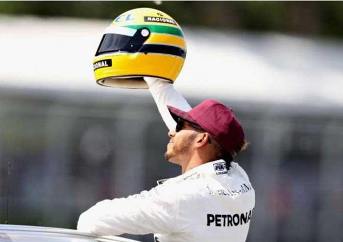 Hamilton iguala poles de Senna - Canadá 2017