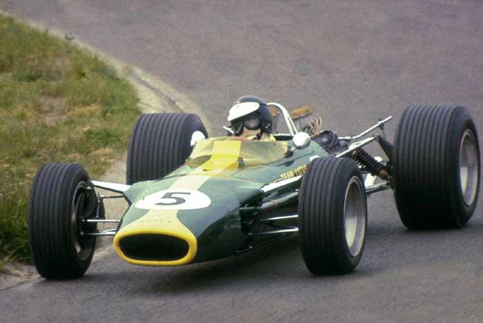 Jim Clark - Lotus 49 - Holanda 1967