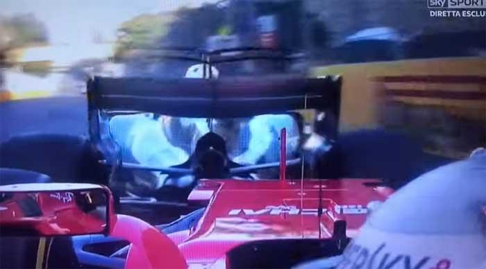 Vettel bate na traseira de Hamilton em Baku