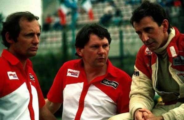 Ron Dennis, John Barnard e John Watson