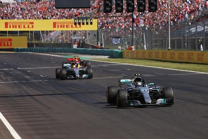 Chegada GP da Hungria
