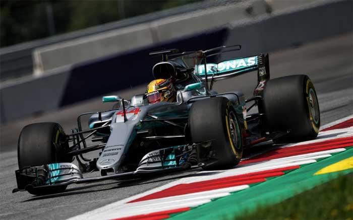 Lewis Hamilton - Áustria 2017