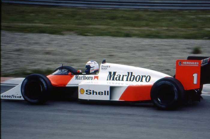 Alain Prost - McLaren MP4/3 Tag Porsche