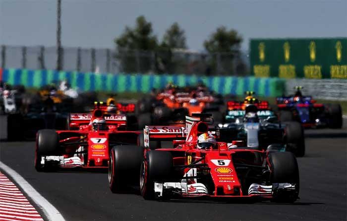 Vettel vence Hungria 2017