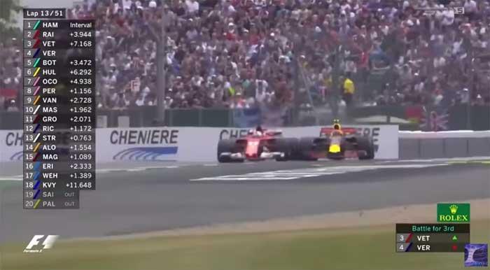 Vettel x Verstappen - Silverstone 2017