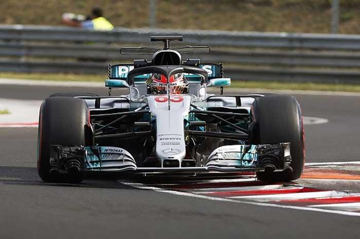 Halo da Mercedes